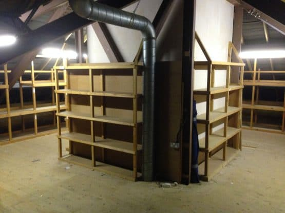Before attic area